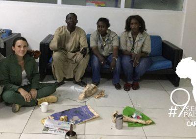 55 horas detenida en Senegal Marina Armida